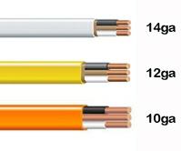 color code household wire