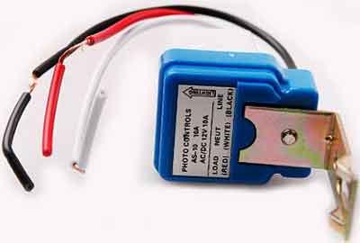 12 volt AC-DC photocell