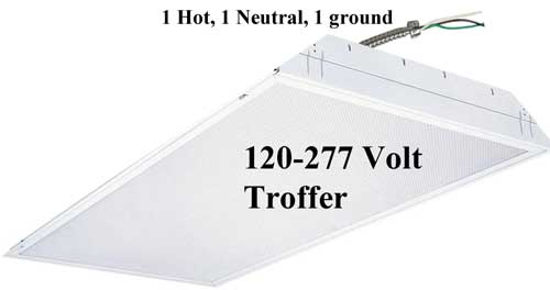 120-277 volt troffer