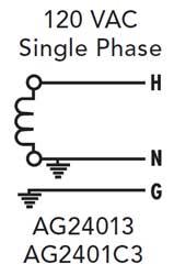 120 volt single phase