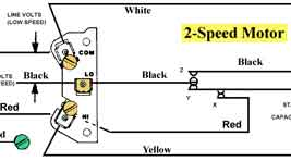 2 speed motor wiring