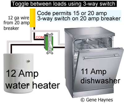 water heater circuit