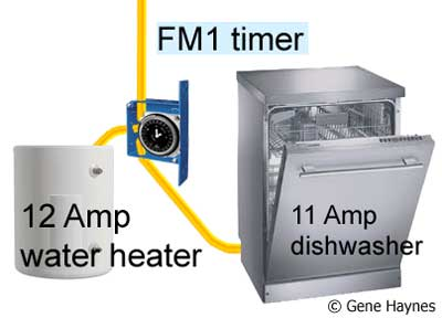water heater circuit