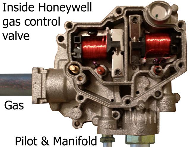 Honeywell WV8840 circuit board