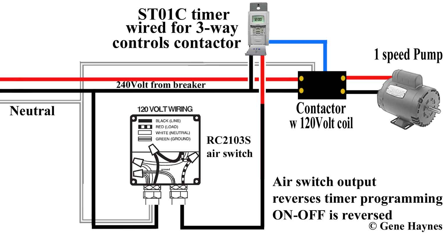 Convert single-pole switch into 3-way switch using ST01/ How to add a switch  · How to add 3-way switch · 24 volt programmable timer