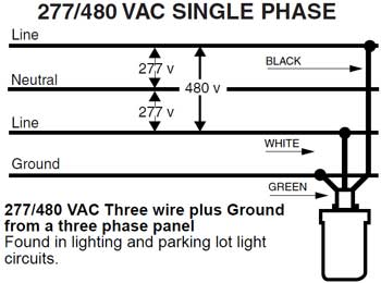 277 volt wiring neutral wiring diagram table  277 volt lighting wiring diagram #7