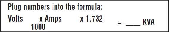 3-phase formula