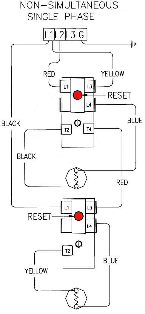 3 phase water heater rh waterheatertimer org Wiring Diagram Single Phase to Phase 3 480 VAC 3 Phase Motor Wiring