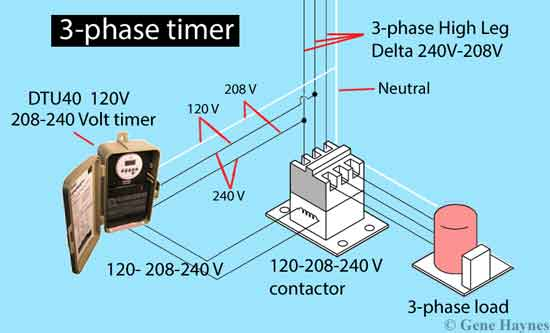 how to wire 3 phase buildings 3 phase power normally have neutral wire used to power ordinary 120volt outlets
