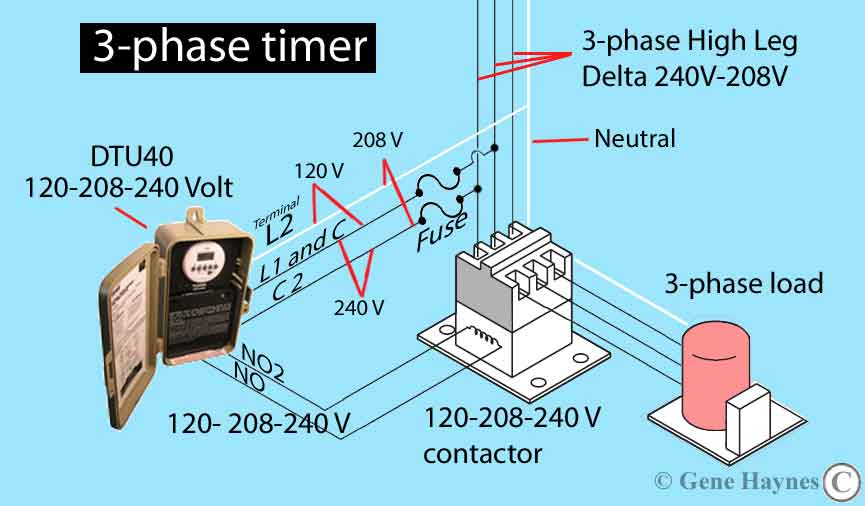How To Wire Tork Dtu40 Timer