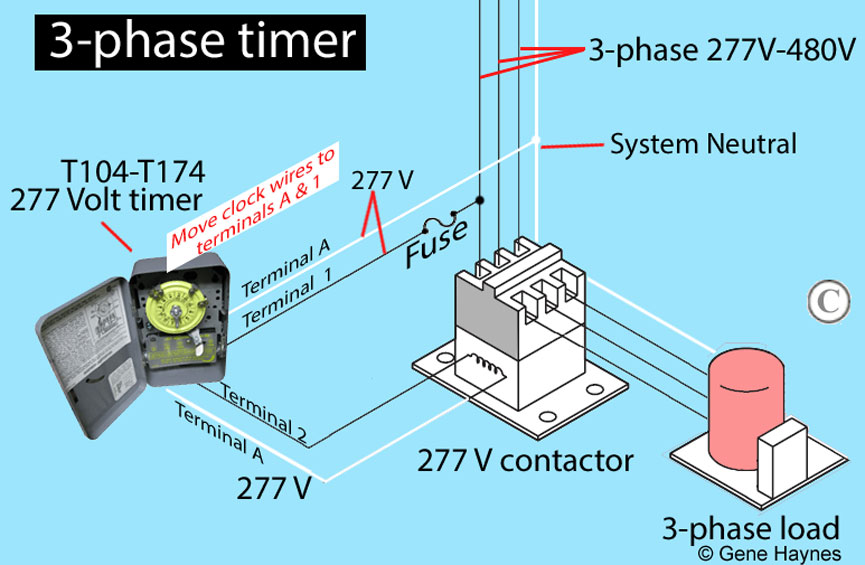 277 Volt Wiring Diagram Timer - DIY Wiring Diagrams •