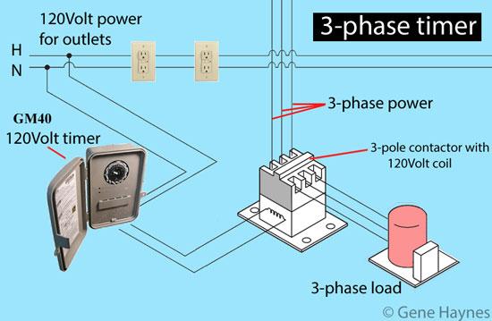 3 phase timer