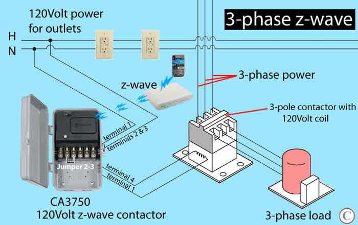How to install 3-phase timer: