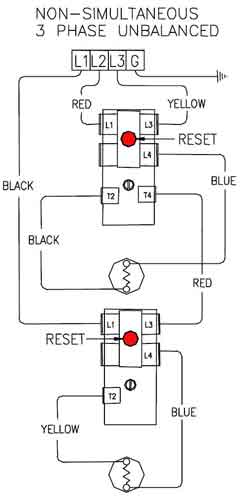 3 phase unbalanced non simultaneous 500 how to wire 3 phase 3 phase heating element wiring diagram at readyjetset.co