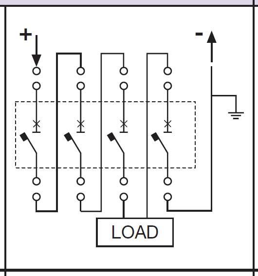 4-pole DC breaker