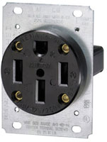 4 prong 50 amp flush how to wire 240 volt outlets and plugs leviton 30a 125 250v plug wiring diagram at gsmx.co
