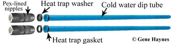 Troubleshoot And Replace Water Heater Dip Tubes