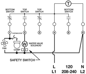 paragon timers and manuals rh waterheatertimer org Typical Defrost Timer Wiring Diagram heatcraft defrost termination switch wiring diagram