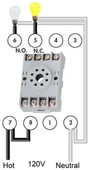 How to wire Pin timers Dayton Pin Relay Wiring Diagram on