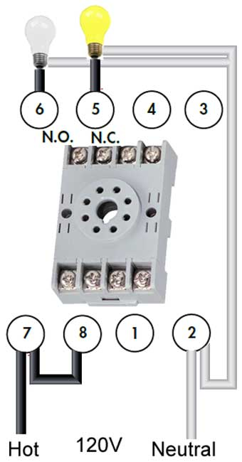 How to wire pin timers larger image example 8 pin wiring for relay swarovskicordoba Images