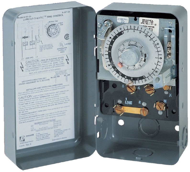 8000 series defrost 500 paragon timers and manuals paragon 8145 00 wiring diagram at alyssarenee.co