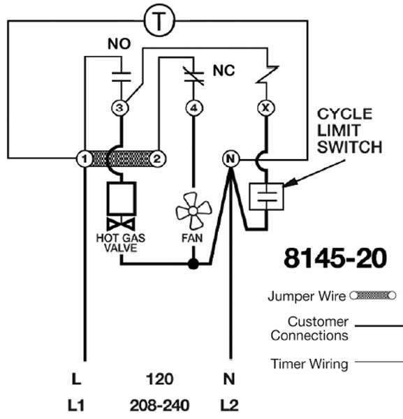 8145 20 wiring 600 mercial defrost timer wiring diagram diagram wiring diagrams for commercial defrost timer wiring diagram at n-0.co