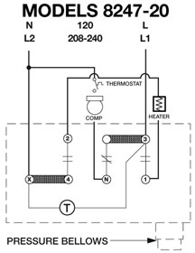 commercial defrost timer wiring walk in freezer defrost wiring diagram for a walk-in cooler commercial freezer defrost timer wiring #5