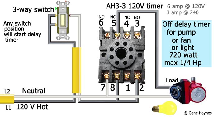 How to wire AH3-3 timer  Volt Light Relay Wiring Diagram on 240 volt time delay relay, 240 volt 3 phase motor wiring, california three-way switch diagram, 240 volt gfci breaker diagram, simple photocell diagram, 24 volt wiring diagram, air compressor 240 volt circuit diagram,