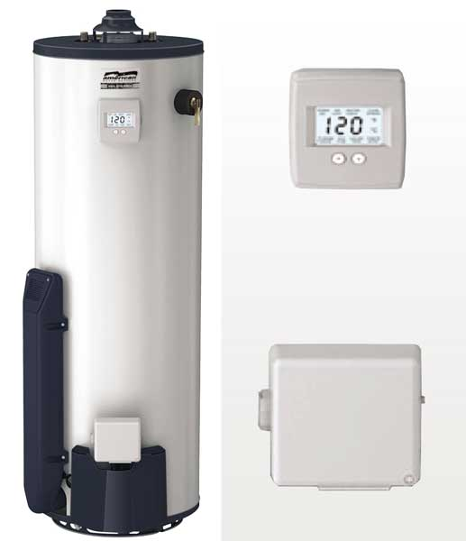 High Efficiency Atmospheric Gas Water Heater. The most efficient and advanced conventional vent water heater on the market