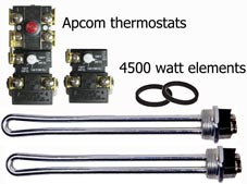 Apcom thermostats