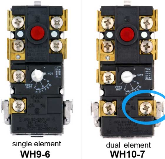 dual element thermostat  larger image