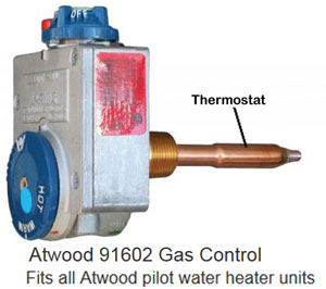 Atwood gas control valve