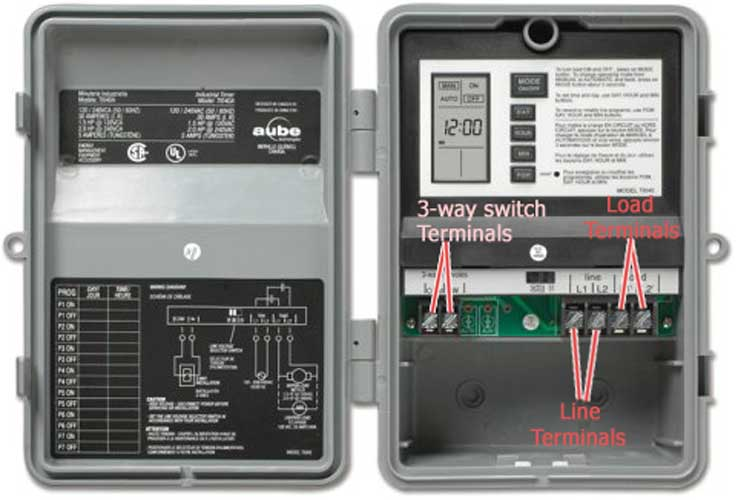 Aube T 1040 image open 5 honeywell timers Appliance Switch Honeywell at panicattacktreatment.co