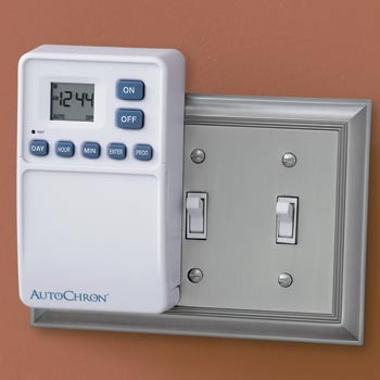Utilitec TMDW50L Manual, More Light Switch Timers