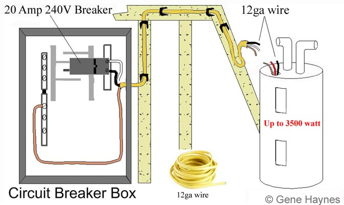 wiring diagram for 240 volt wall heater the wiring diagram basic 240 120 volt water heater circuits wiring diagram