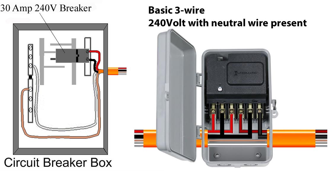 How to wire Intermatic CA3750