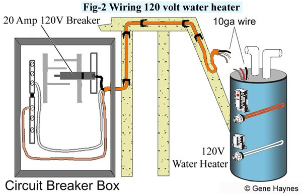 [DIAGRAM_4FR]  How to wire water heater for 120 Volts | 240 Heater Wiring Diagram |  | Waterheatertimer.org
