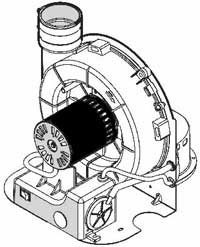 water heater blower motor