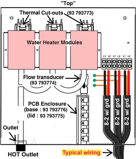 how to wire tankless electric water heater how to wire tankless