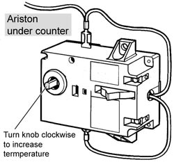 Bosch ariston thermostat