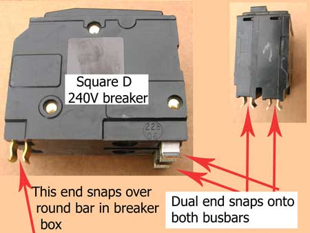 Square D circuit breaker