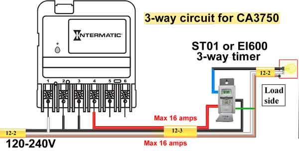 CA3750 3-way circuit