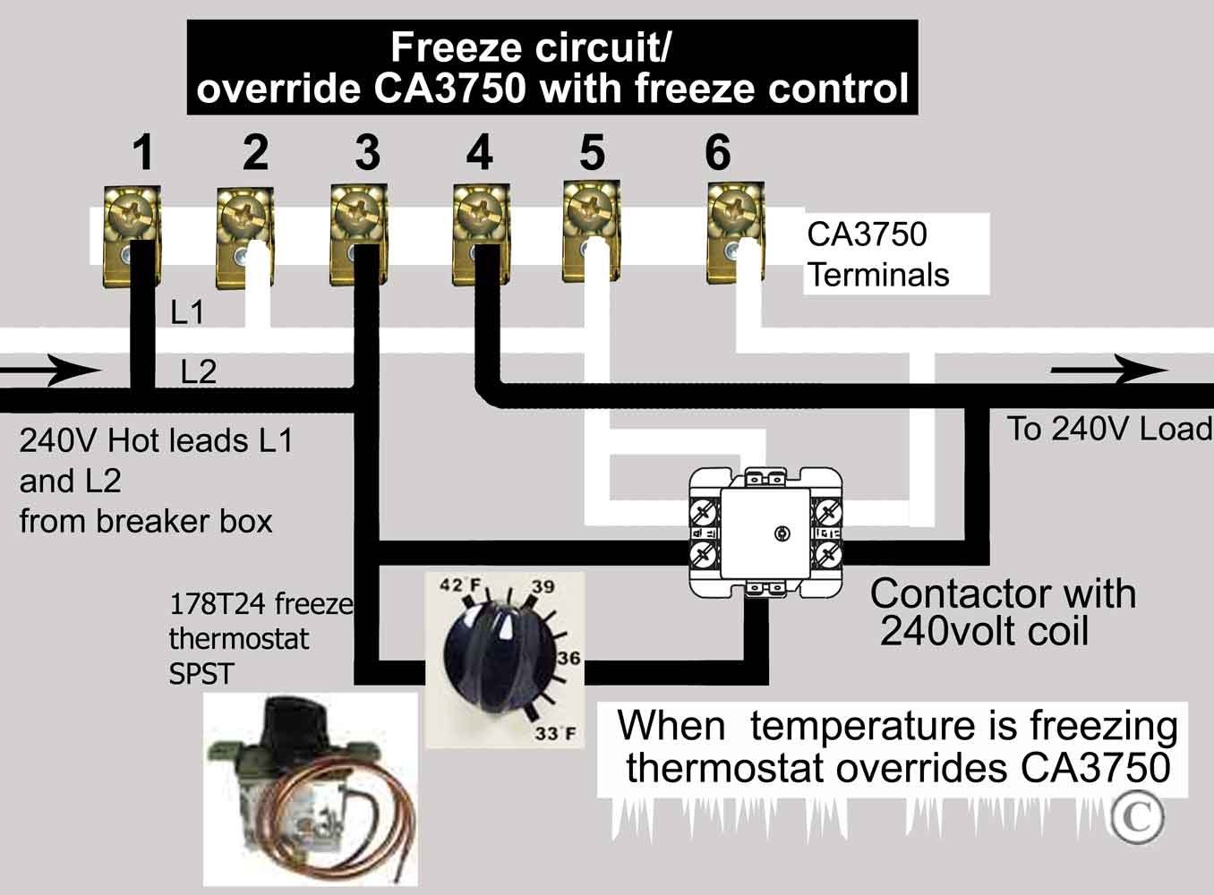how to wire ca3750 z wave contactor zwave basics  large image of spst