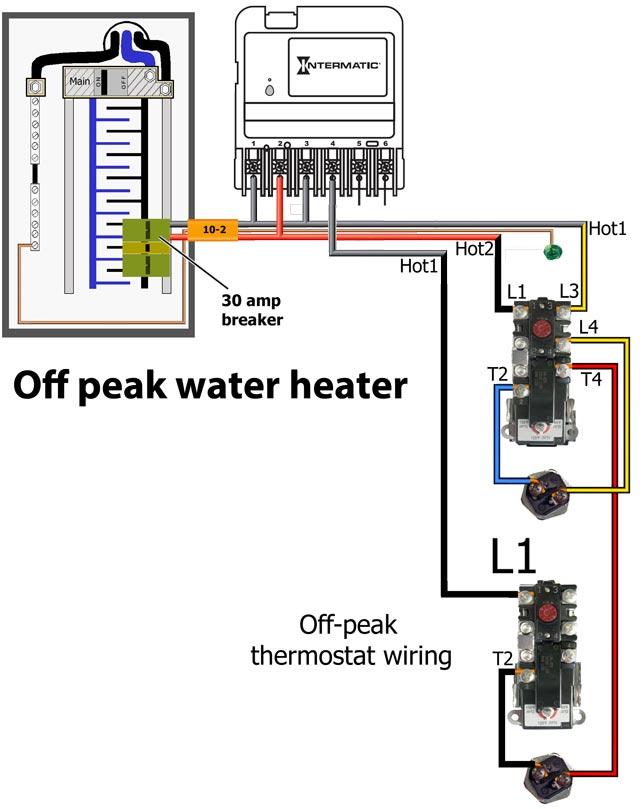 CA3750 off peak water heater