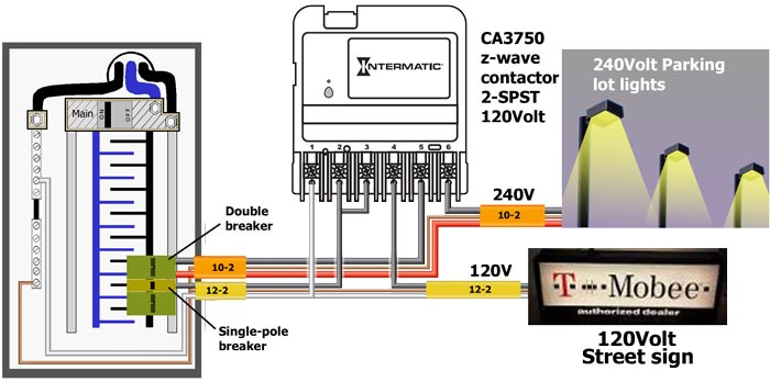 CA3750 wiring