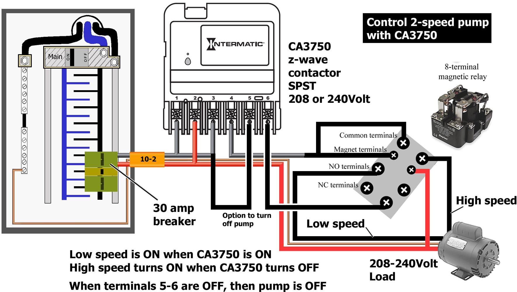 how to wire intermatic ca3750 diagram