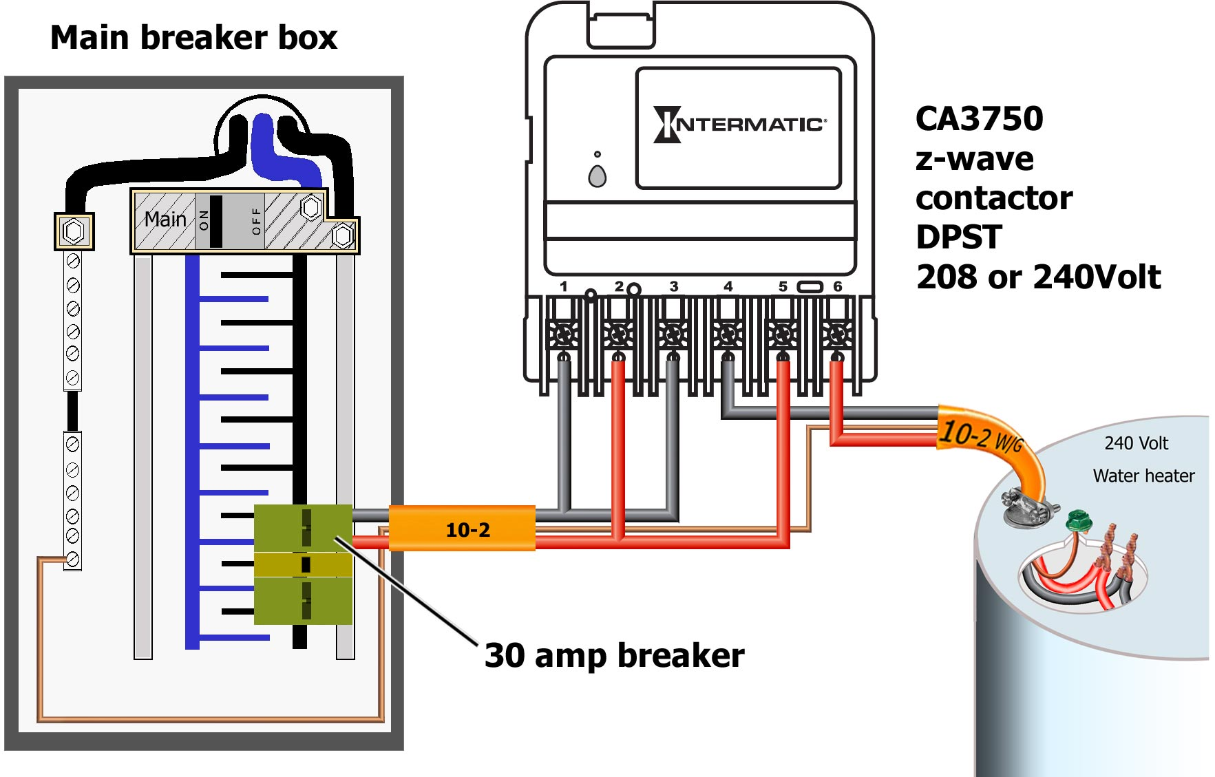How To Wire Intermatic Ca3750 Master Spa Wiring Diagram Larger Image