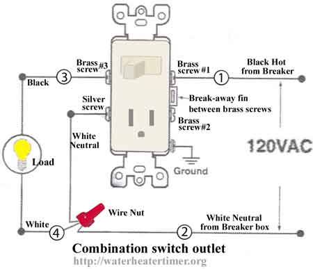 Combination switch outlet 6a how to install and troubleshoot gfci switch outlet combo wiring diagram at crackthecode.co