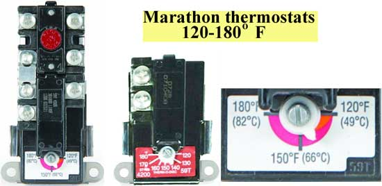 Marathon thermostats