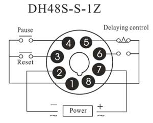 How to wire twin timer Off Delay Relay Wiring Dh S S on